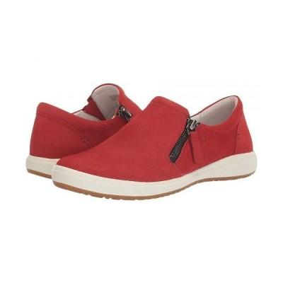 Josef Seibel ジョセフセイベル レディース 女性用 シューズ 靴 スニーカー 運動靴 Caren 22 - Red