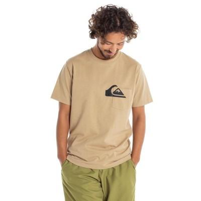 クイックシルバー QUIKSILVER  OVER POCKET ST Mens T-shirts