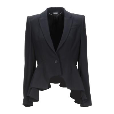 アレキサンダー マックイーン ALEXANDER MCQUEEN テーラードジャケット ブラック 42 レーヨン 52% / アセテート 48% テ