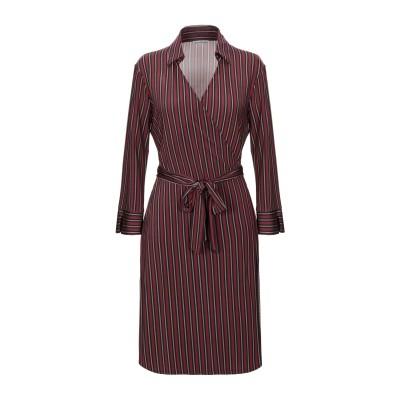 CAMICETTASNOB ミニワンピース&ドレス ボルドー 44 レーヨン 96% / ポリウレタン 4% ミニワンピース&ドレス