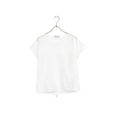 [ アフタヌーンティー リビング ] AfternoonTea LIVING Tシャツ・カットソー HA75 (オフホワイト M)