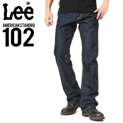Lee リー AMERICAN STANDRD 102ブーツカットデニムジーンズ ワンウォッシュ(100) メンズ ジーンズ ジーパン ズボン ブランド