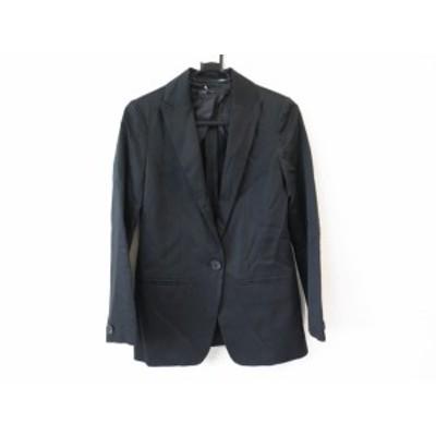 ラピスルーチェ LAPIS LUCE PER BEAMS ジャケット サイズS レディース 美品 黒 肩パッド【中古】