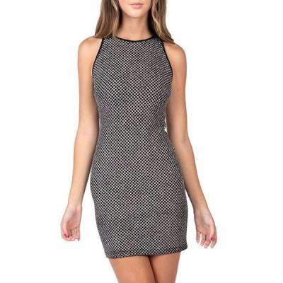 ビーダーリン レディース ワンピース トップス Sleeveless Glitter Pattern Sheath Dress