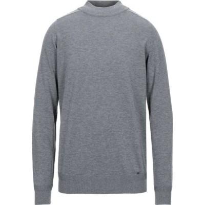 リウジョー LIU JO MAN メンズ ニット・セーター トップス turtleneck Grey
