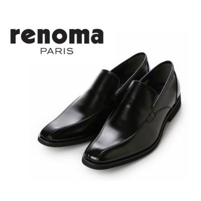 U.P renoma ユーピーレノマ U3558 3558 メンズ ビジネスシューズ スワール スリッポン 靴 正規品