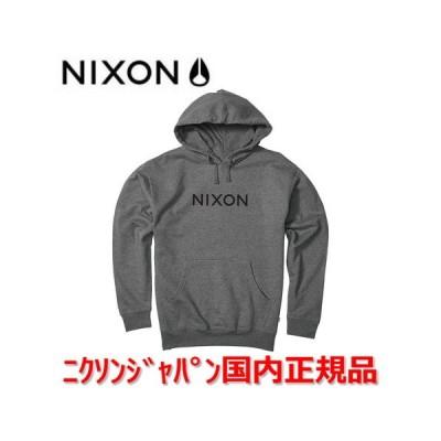 ニクソン NIXON パーカー トレーナー メンズ レディース Wordmark Pullover ワードマークプルオーバー S27511447 国内正規品