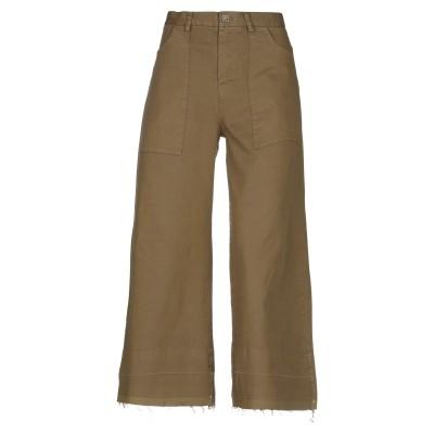 マニラ グレース MANILA GRACE パンツ ミリタリーグリーン 38 コットン 97% / ポリウレタン 3% パンツ