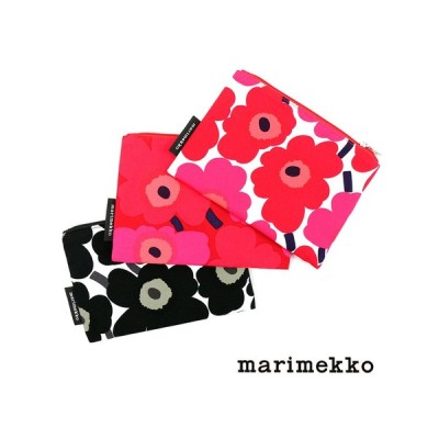 マリメッコ ポーチ フラットポーチ ウニッコ KAIKA MINI UNIKKO marimekko 2019春夏新作 メール便可能3 レディース 国内正規品