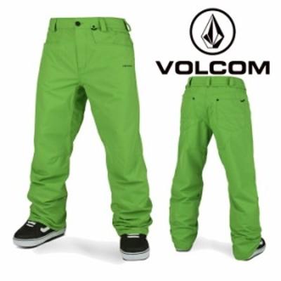ボルコム ウェア パンツ 20-21 VOLCOM CARBON PANT GRN-Green G1352112 スノーボード 日本正規品