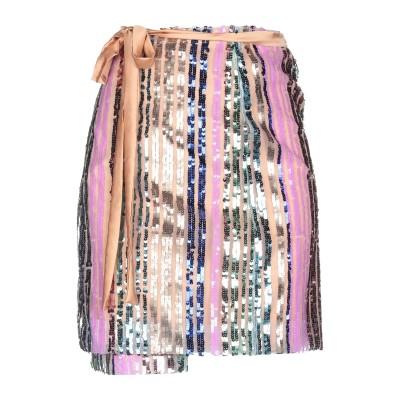 メルシー ..,MERCI ひざ丈スカート キャメル S ポリエステル 100% ひざ丈スカート
