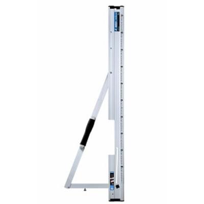 シンワ 丸ノコガイド定規 たためるエルアングル 1m メートル目盛 78102 製品質量700g 突き当てがたためる ラクラク90°スリット