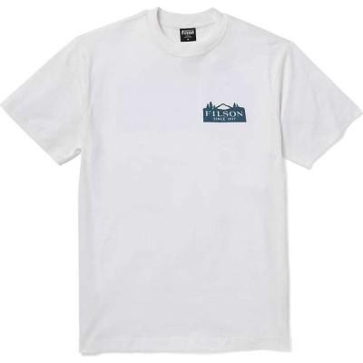 フィルソン Filson メンズ Tシャツ トップス Ranger Graphic T-Shirt Bright White