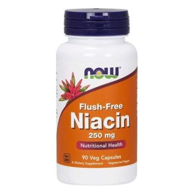 Flush-Free Niacin, 250 mg 90 Veg Capsules