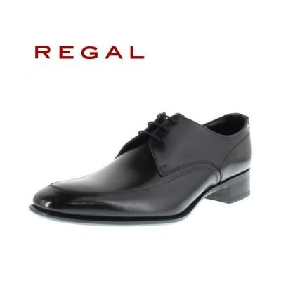 リーガル 靴 REGAL メンズ ビジネスシューズ 727R AL ブラック Uチップ 外羽根式 紳士靴 日本製 2E 本革