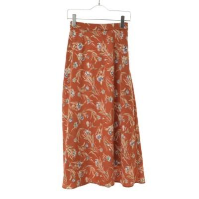 FREE'S MART / フリーズマート チューリップ柄フレアマキシ スカート