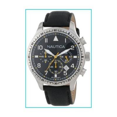 Nautica Unisex N16577G BFD 105 Stainless Steel Chronograph Watch【並行輸入品】