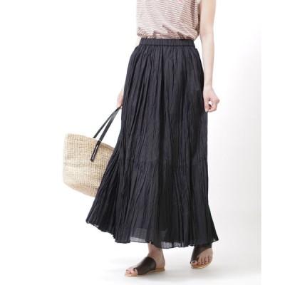 アッパーハイツ ギャザースカート ロングスカート Sandra upper hights レディース 国内正規品