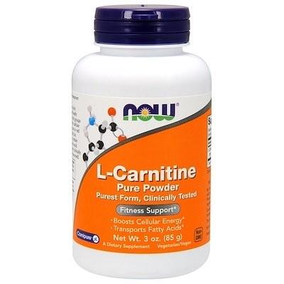 L-カルニチン、ピュアパウダー、3 oz (85 g)