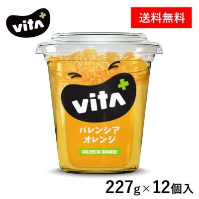 【公式】 ビタプラス VITA+ バレンシアオレンジ シロップ漬け 227g 12個入 フルーツ スイーツ まとめ買い ビタミンC