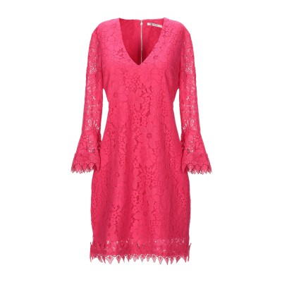 ゲス GUESS ミニワンピース&ドレス フューシャ XS ナイロン 40% / コットン 32% / レーヨン 28% ミニワンピース&ドレス