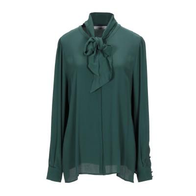 MARELLA シャツ グリーン 40 アセテート 69% / シルク 31% シャツ