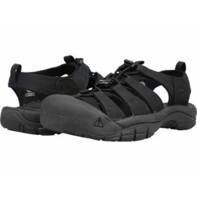 Keen キーン メンズ 男性用 シューズ 靴 サンダル Newport H2 Triple Black【送料無料】
