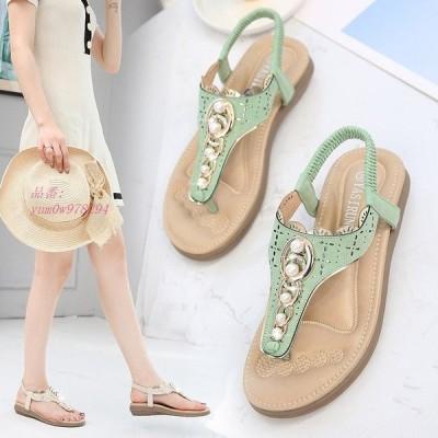 サンダル 可愛いサンダル 美脚サンダル シューズ 海 旅行 ビーチサンダル レディース 新作 歩きやすい 大きいサイズ カジュアル リゾート 靴 おしゃれ