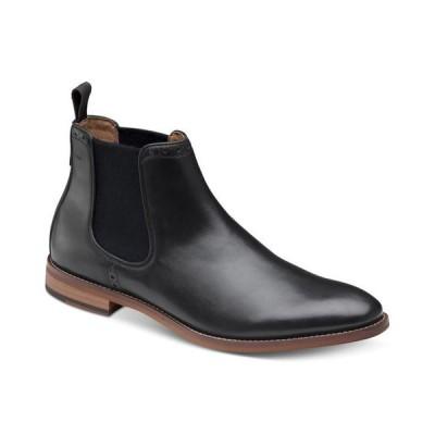 ジョンストンアンドマーフィー メンズ ブーツ・レインブーツ シューズ Men's Haywood Chelsea Boots