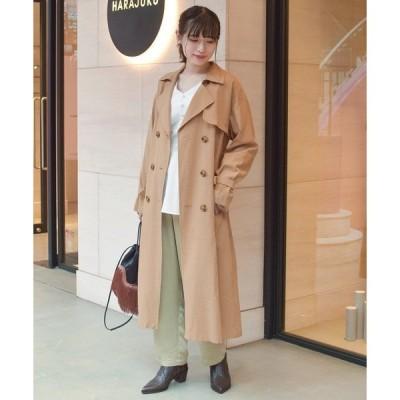 コート トレンチコート Ray BEAMS / ビッグ トレンチ コート