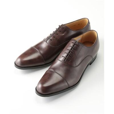 [靴]リーガル 紳士靴 ストレートチップ 114S ダークブラウン 23.5