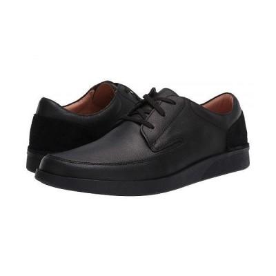 Clarks クラークス メンズ 男性用 シューズ 靴 オックスフォード 紳士靴 通勤靴 Oakland Craft - Black Leather