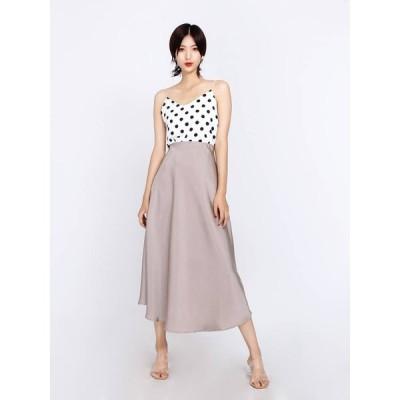 スカート サテンナロースカート サテン ピンクベージュ ブラック 光沢 上品 艶やか 華やか ロング丈 Aライン フレア シンプル おしゃれ 大人 通勤