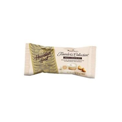 ハワイアンホースト マカデミアナッツチョコレートホワイトバー(2粒) 21g ×12個