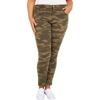 リーバイス Levi's Plus レディース ジーンズ・デニム スキニー ボトムス・パンツ 311 Shaping Skinny Jeans Soft Tanzanite Camo