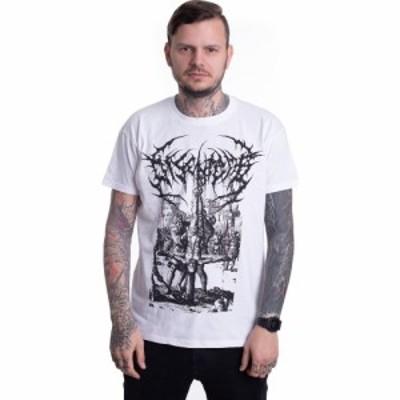 インペリコン Impericon メンズ Tシャツ トップス - Crucifixion White - T-Shirt white