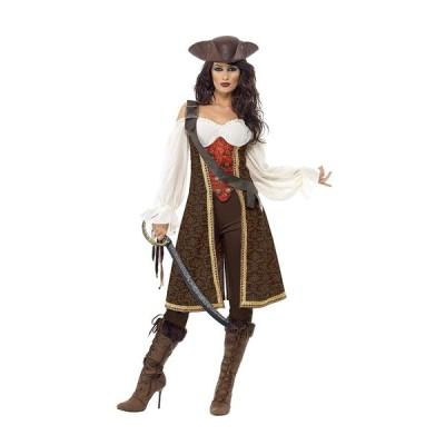Smiffy's ウーマン 女性 ハイ シー パイレーツ コスチューム 衣装 ハロウィン パーティー 並行輸入品