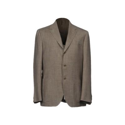 サルトリオ SARTORIO テーラードジャケット グレー 48 ウール 70% / 麻 15% / シルク 15% テーラードジャケット