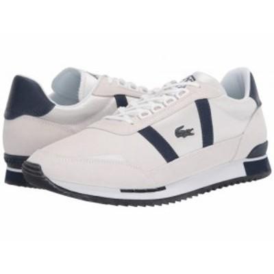 Lacoste ラコステ メンズ 男性用 シューズ 靴 スニーカー 運動靴 Partner Retro 120 1 Off-White/Navy【送料無料】