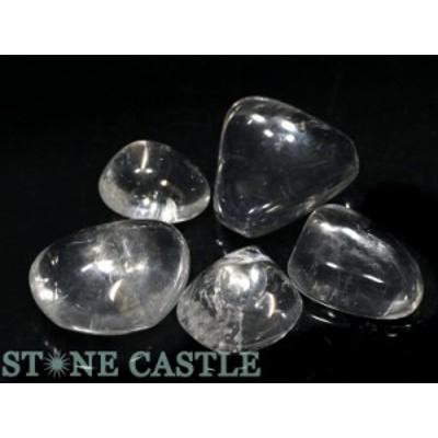☆置石一点物☆【天然石 置き石】水晶 (EX) 握り石 (5個セット) No.31