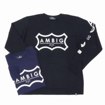 AMBIG(アンビギュアス)39-050 長袖Tシャツ ゆうパケット対応商品