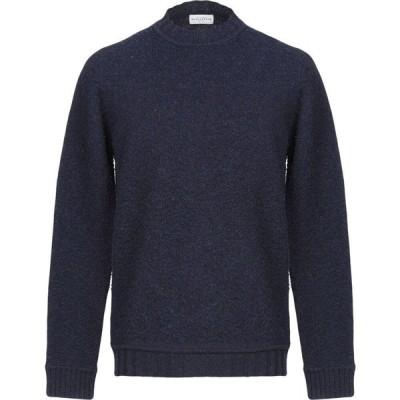 バランタイン BALLANTYNE メンズ ニット・セーター トップス sweater Dark blue