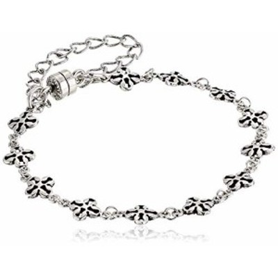 アレックスアンドアニ アメリカ アクセサリー Alex and Ani Mini Floral Chain Magnetic Bracele