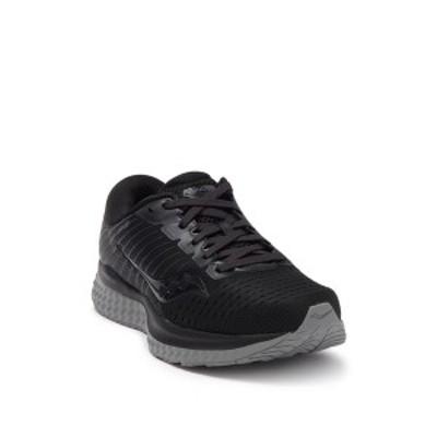 サッカニー レディース スニーカー シューズ Guide 13 Running Sneaker BLACKOUT