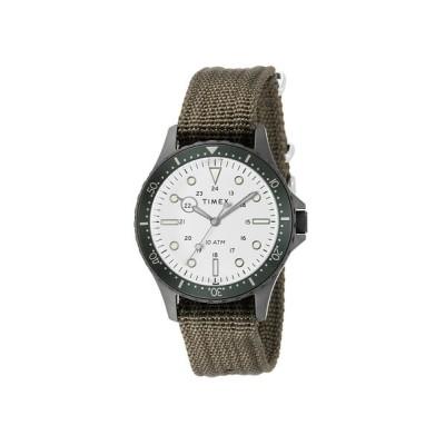 ABAHOUSE/アバハウス 【TIMEX/タイメックス】ネイビーXL 腕時計 TW2T75500 ホワイト F