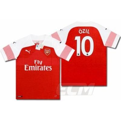 【予約ECM32】【SALE】アーセナル ホーム 半袖 10番 エジル【18-19/Arsenal/サッカー/プレミアリーグ/Ozil】