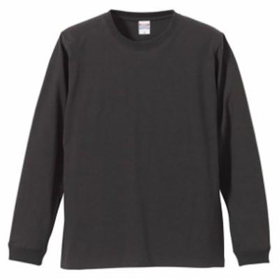 5.6オンス ロングスリーブTシャツ(1.6インチリブ)【UnitedAthle】ユナイテッドアスレカジュアルナガソデTシャツ(501101C-165)