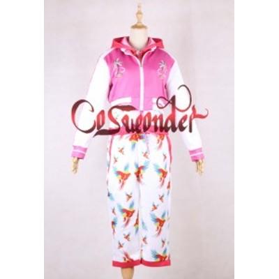 高品質 高級コスプレ衣装 ももクロ 風 ザ・ゴールデンヒストリー タイプ ピンク オーダーメイド コスチューム ハロウィン
