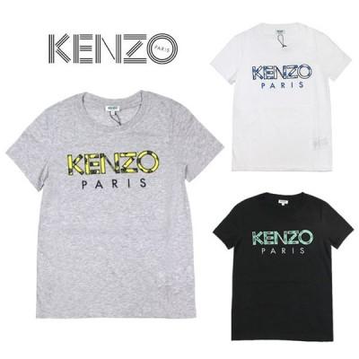 ケンゾー Tシャツ KENZO レディース ロゴ Tシャツ  KENZO Paris 'Roses' T-Shirt  全3色  F952TS721990