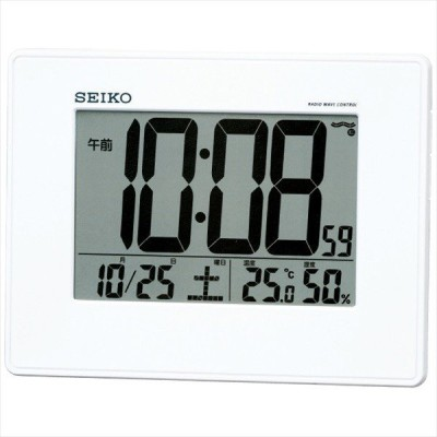 セイコー 掛置兼用 電波目覚まし時計 SQ770W